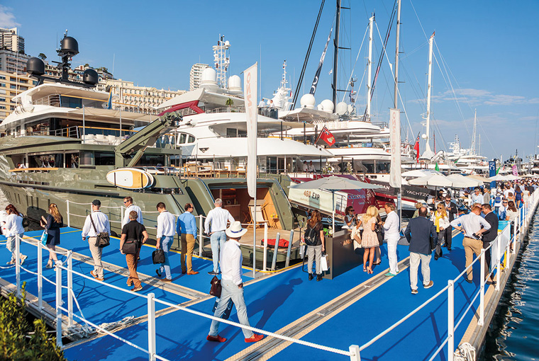 Gibraltar Hosts Stand at the Monaco Yacht Show